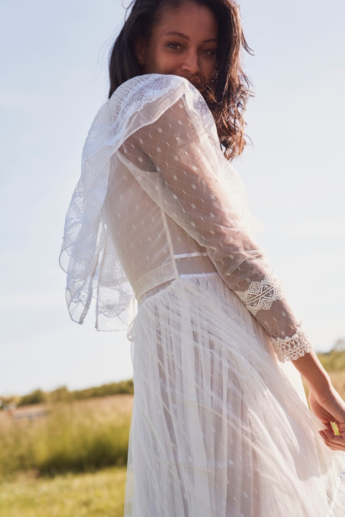 Dean Isidro photographs LoveShackFancy Bridal summer 2020 collection.