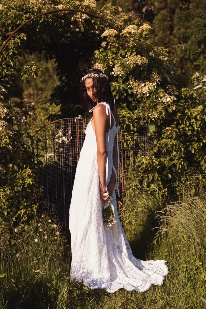 LoveShackFancy Bridal focuses on romantic designs for summer 2020 collection.