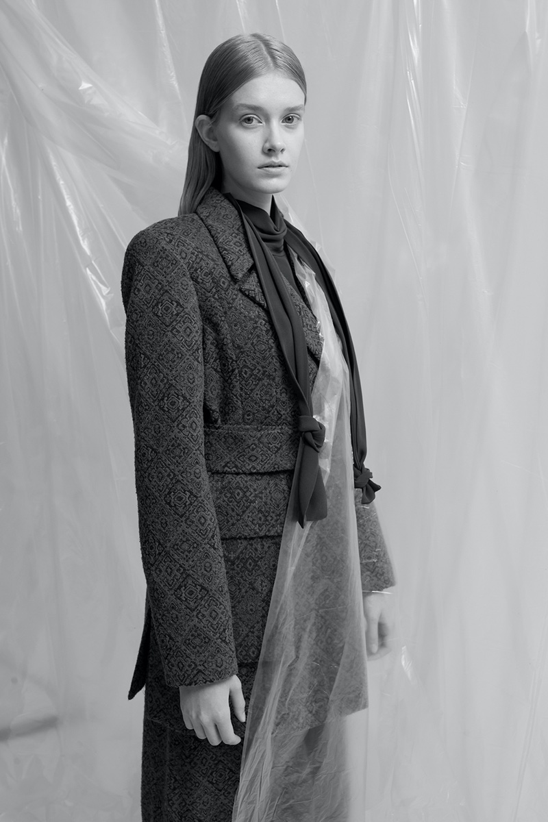 Madeleine Zell Poses in Statement Styles for L'Officiel Baltics