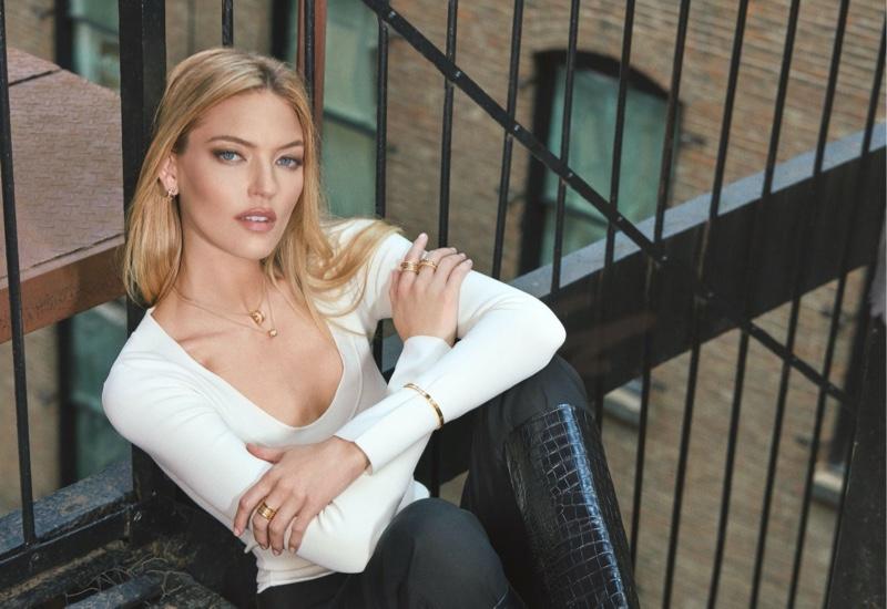 Martha Hunt is a new Bulgari spokesmodel.