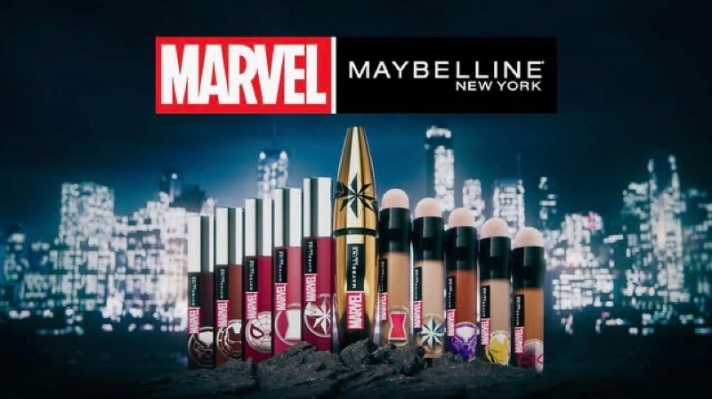 An Le directs the Marvel x Maybelline campaign film.