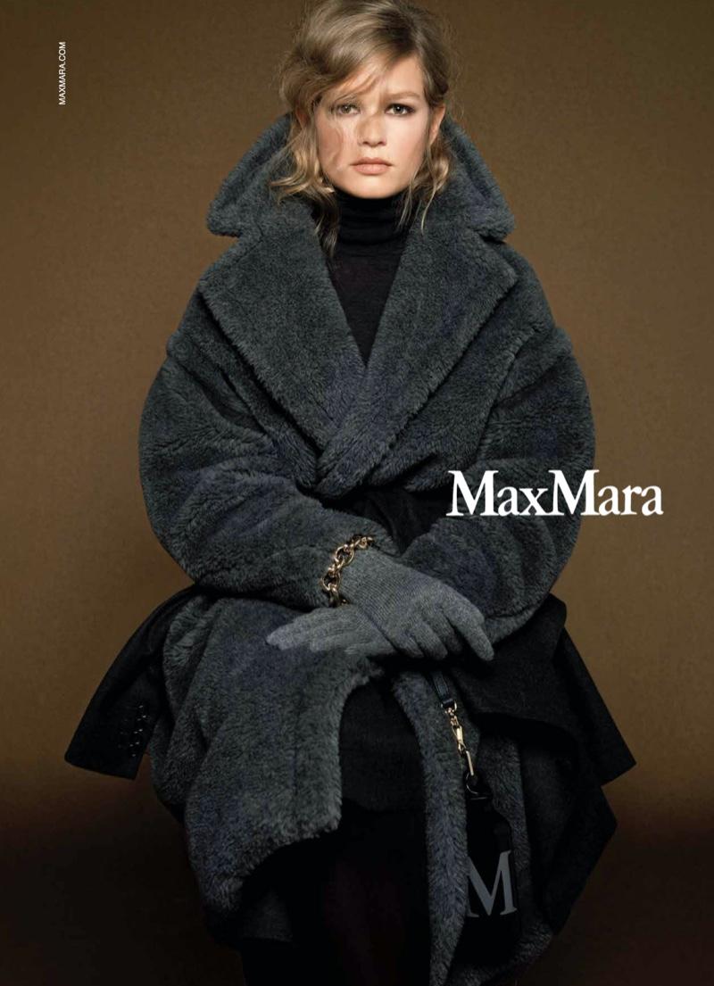 Max Mara taps Anna Ewers for fall-winter 2020 campaign.