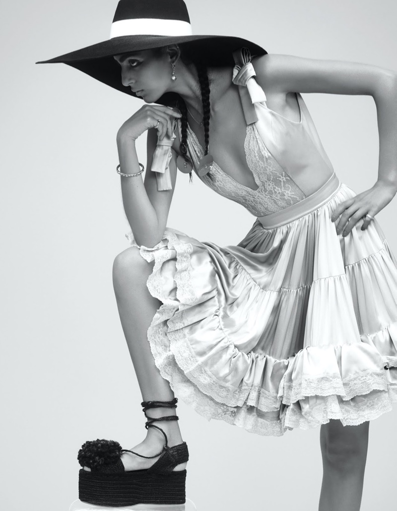 Nora Attal Embraces Romantic Fashions for Vogue Mexico