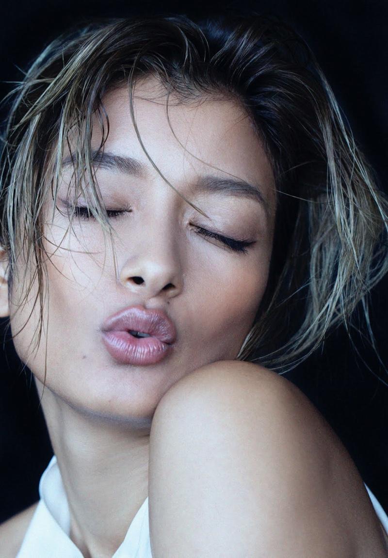 Rola Wows in YSL Beauty for ELLE Japan