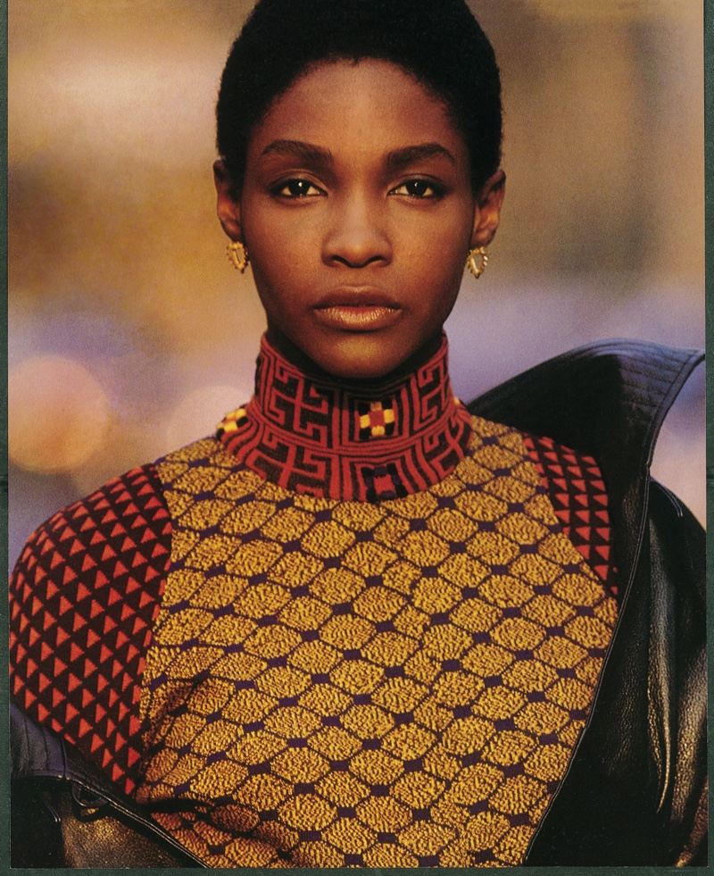 Roshumba Williams, photographed by Nathaniel Kramer, Elle US, April 1990 © Nathaniel Kramer.