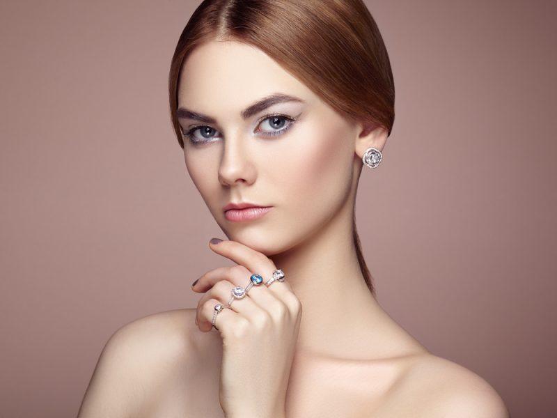 Silver Jewelry Beauty Image
