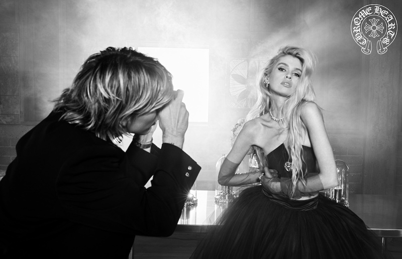 Striking a pose, Stella Maxwell fronts Chrome Hearts fall-winter 2020 campaign.