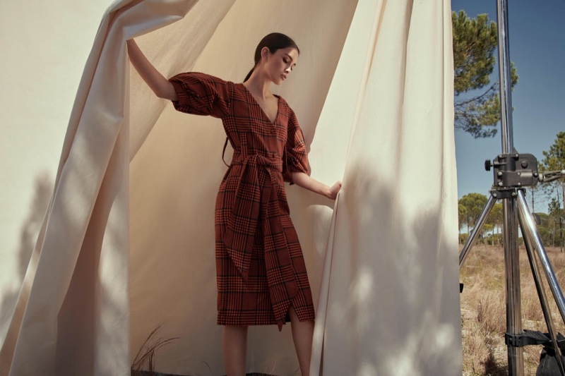 Zoe, Alex, Nastya Pose Outdoors in Stylebop 'A New Era of Style' Campaign