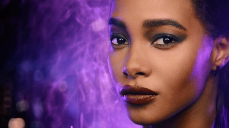 Tami Williams stars in Marvel x Maybelline campaign film.