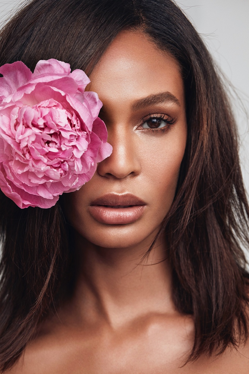 Joan Smalls stars in Victoria's Secret Bombshell Passion fragrance campaign.