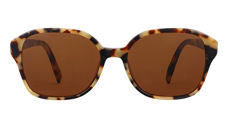Warby Parker Lila Sunglasses in Marzipan Tortoise $95