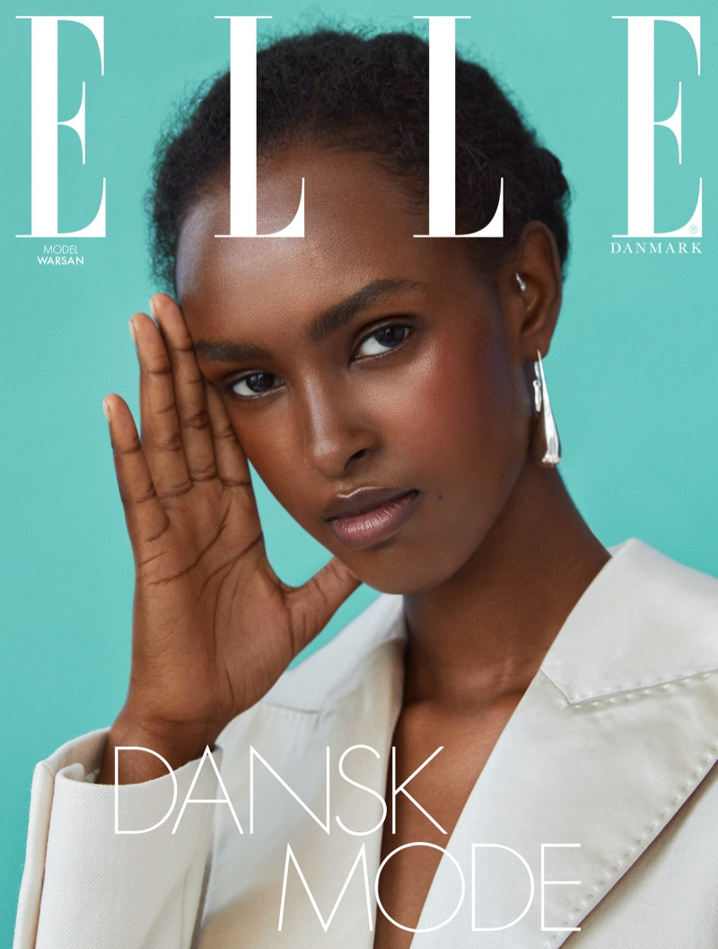 Warsan Graces the Pages of ELLE Denmark