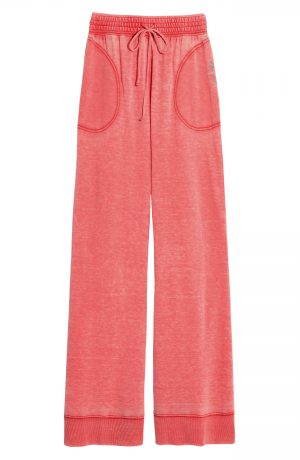 Women's Free People Cozy Cool Lounge Pants, Size X-Small - Red