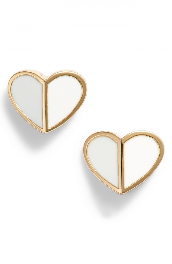 Women's Kate Spade New York Heart Stud Earrings