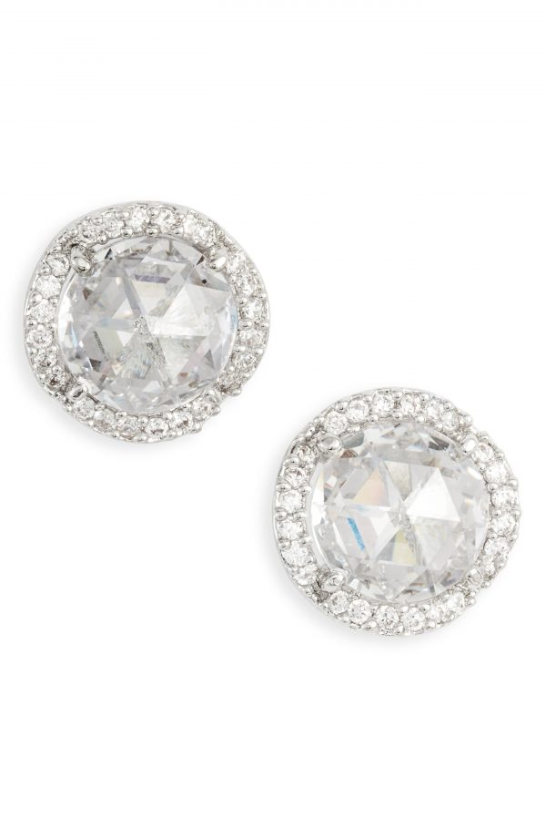 Women's Kate Spade New York That Sparkle Large Pave Stud Earrings