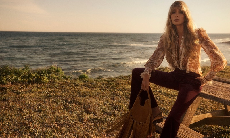 Julia Stegner Is a Vision in Zimmermann Fall 2020 Campaign
