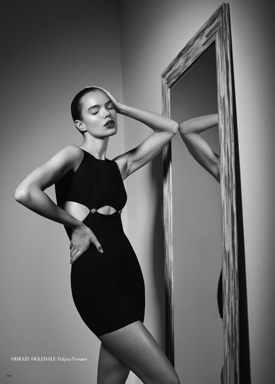 Zo Nowak Takes the Spotlight for Harper's Bazaar Serbia