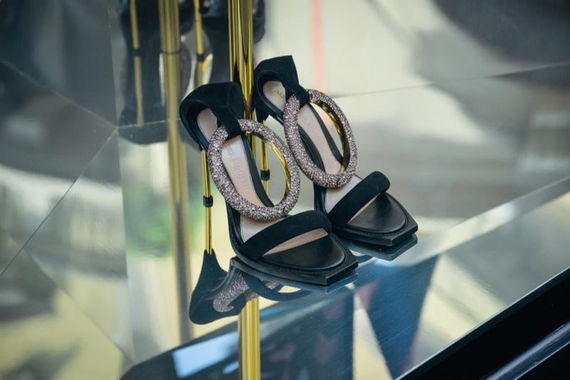 Alexander McQueen heels.