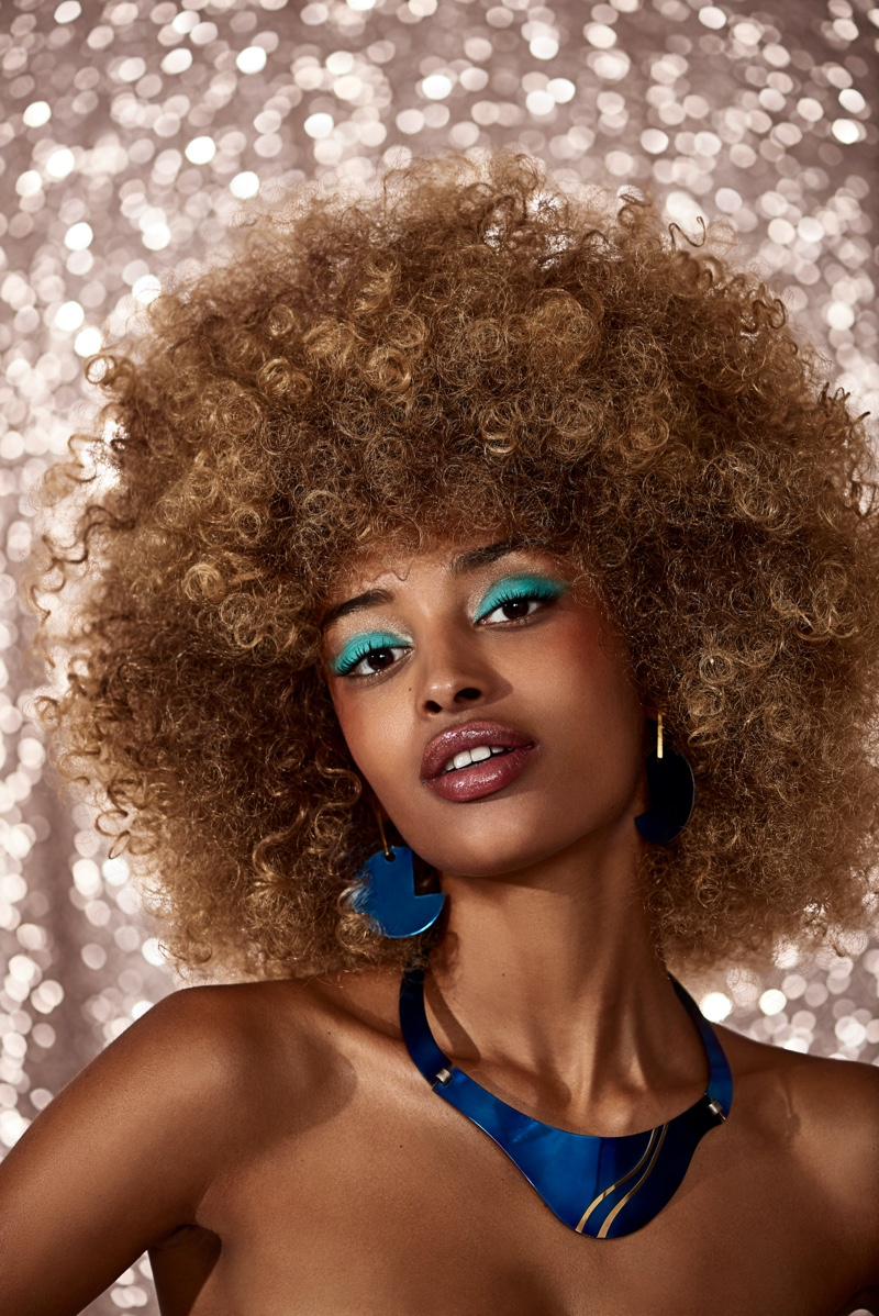 Amy Sarr Turns Up the Shine Factor for Cosmopolitan Spain