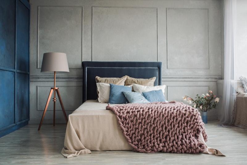 Bedroom Luxury Neutrals Color Lamp