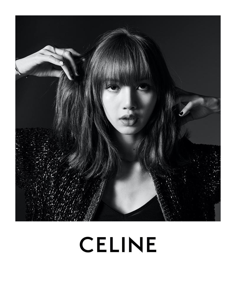 Lisa of Blackpink is announced as Celine's first ambassador.