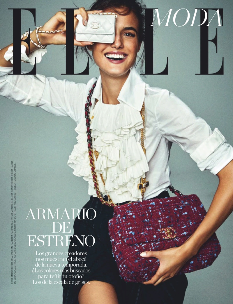 Blanca Padilla Embraces New Season Styles for ELLE Spain