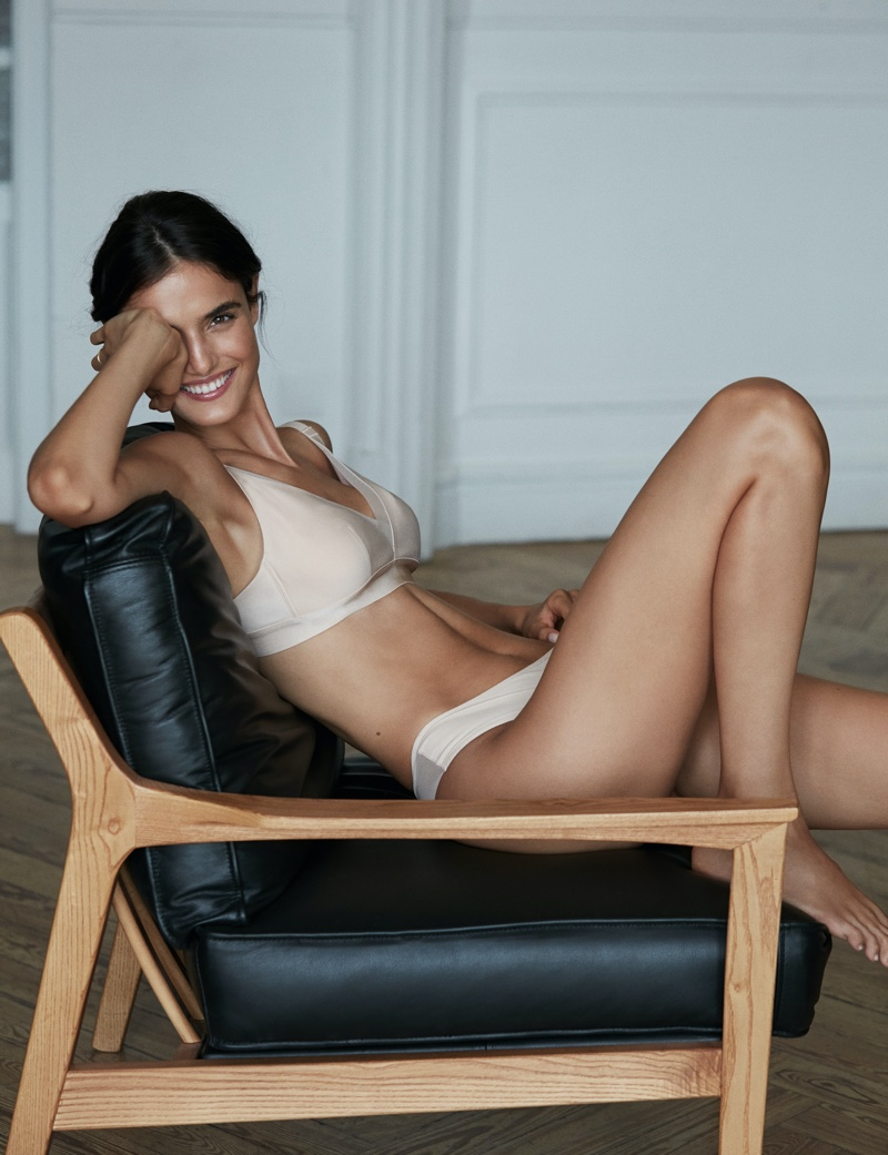 Blanca Padilla Strips Down to Lingerie Looks for ELLE Spain