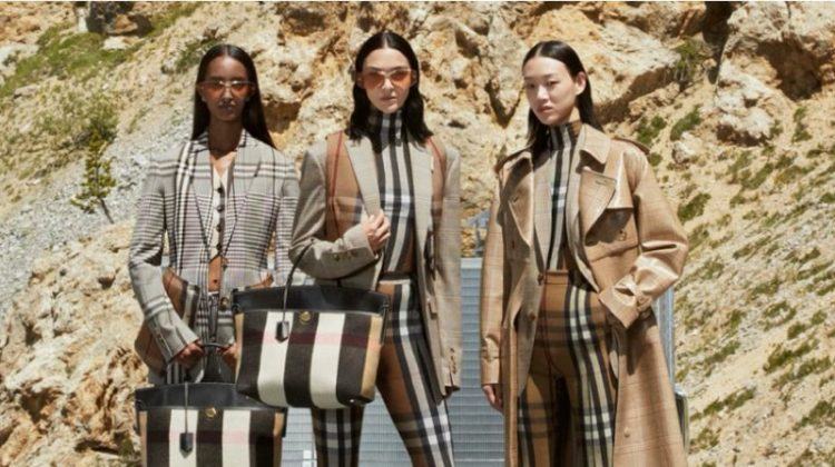 Burberry unveils fall-winter 2020 campaign.