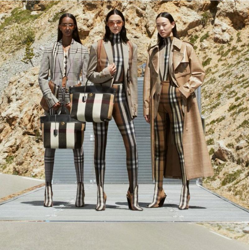 Mariacarla, Sora, Mona Hit the Road in Burberry Fall 2020 Campaign