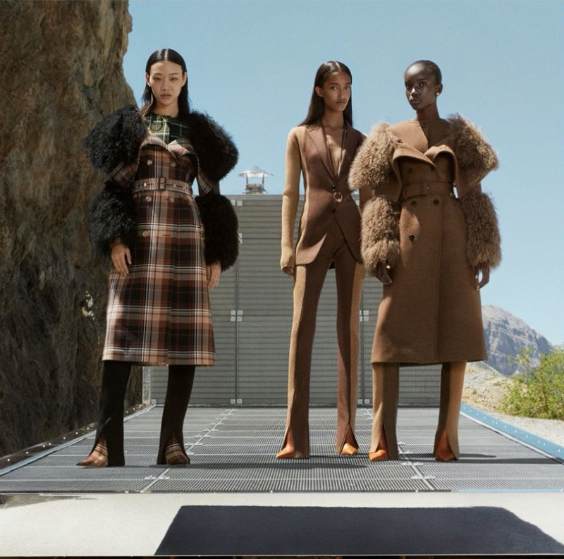 An image from Burberry's fall 2020 advertising campaign.