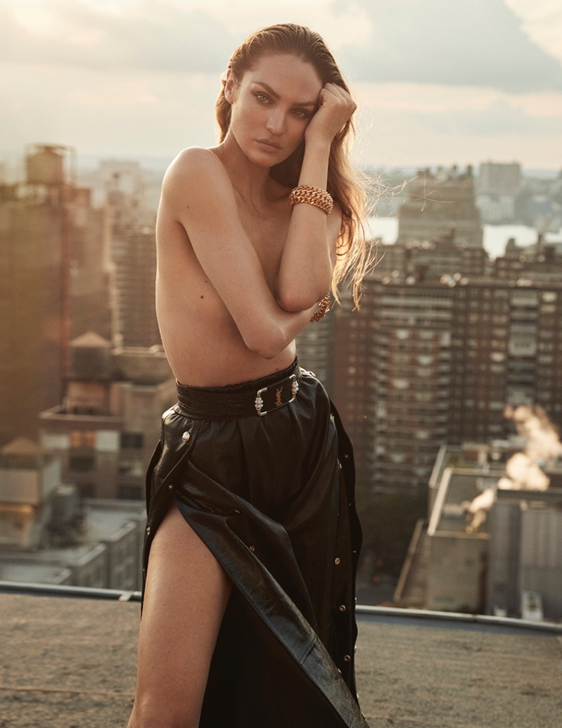 Candice Swanepoel Gets Glam for Harper's Bazaar Spain