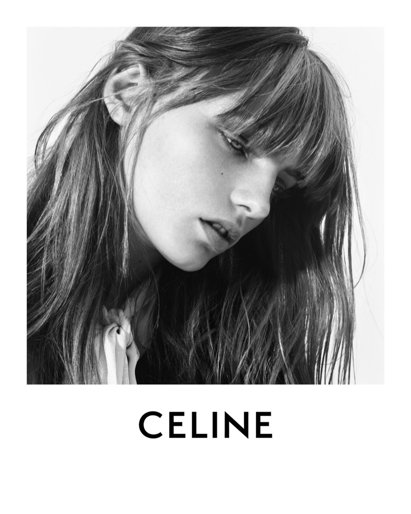 Fran Summers Charms in Celine Winter 2020 Campaign