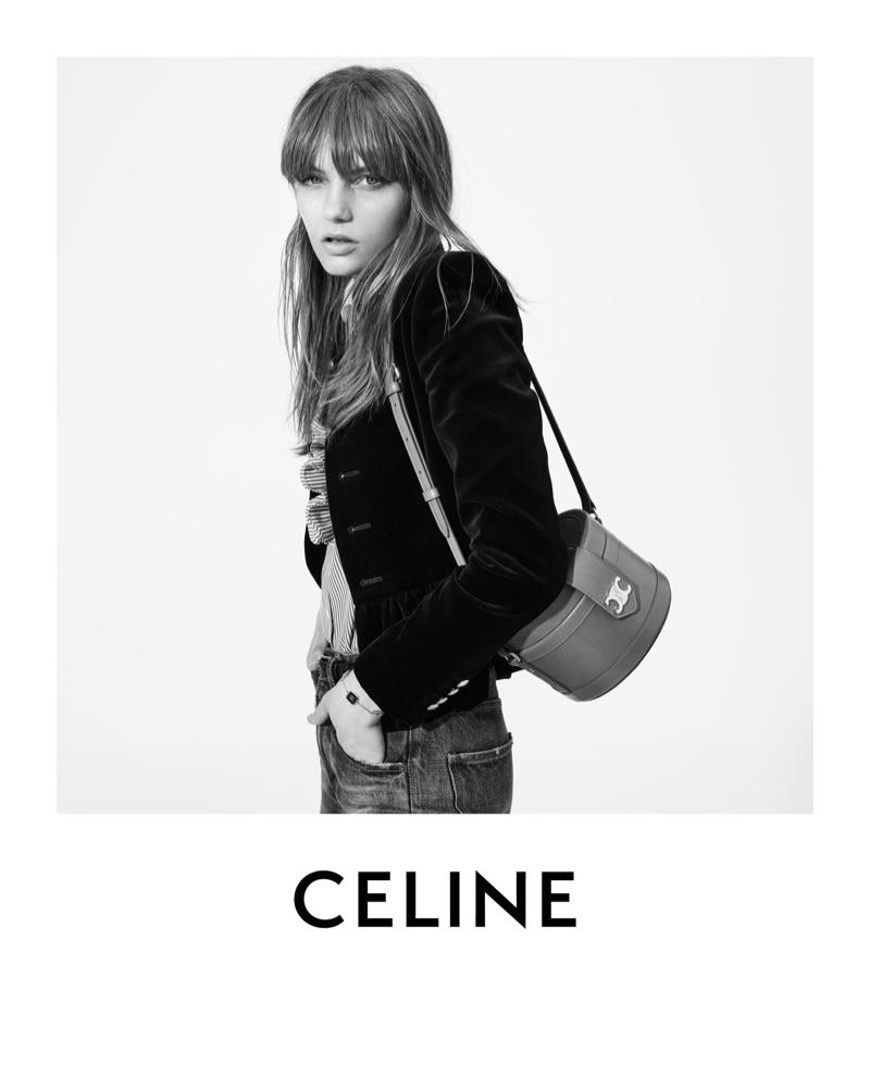 Hedi Slimane photographs Celine winter 2020 campaign.