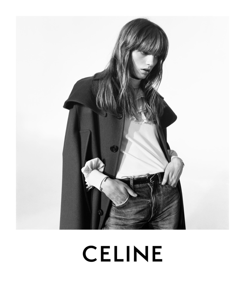 An image from Celine's winter 2020 campaign.