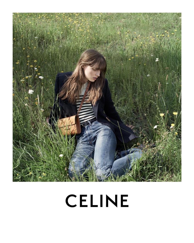 Celine sets winter 2020 campaign in Saint-Tropez.