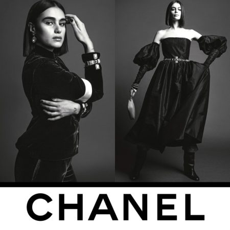 Kaia, Adut, Vittoria, Jill Take the Spotlight in Chanel Fall 2020 Campaign