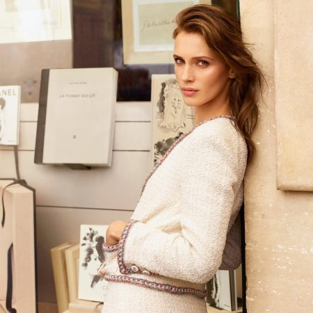 Marine Vacth stars in Chanel Les Beiges Healthy Glow Foundation Hydration and Longwear campaign.