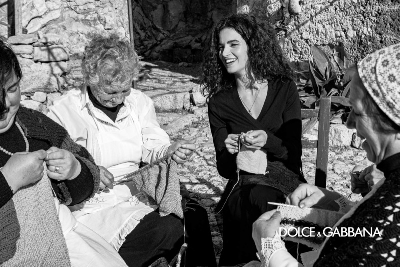 Chiara Scelsi Enchants for Dolce & Gabbana Fall 2020 Campaign