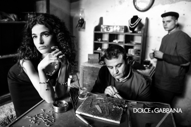 An image from Dolce & Gabbana's fall 2020 advertising campaign.