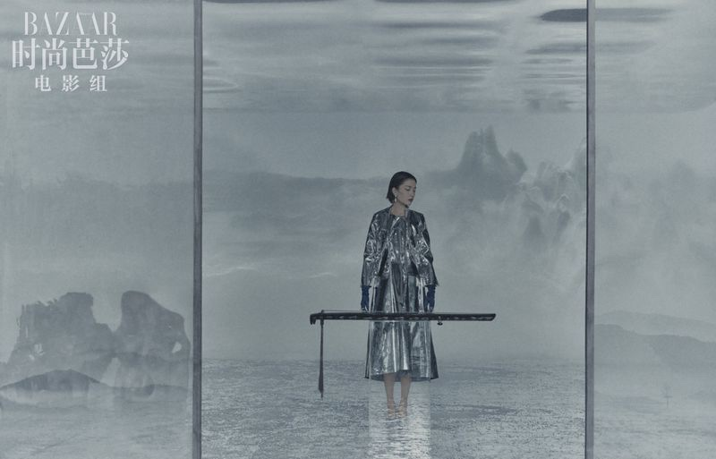 Du Juan is a Vision in Harper's Bazaar China