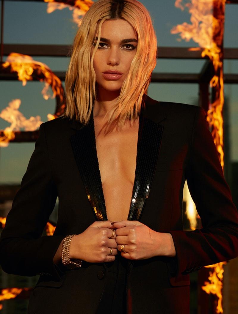 Singer Dua Lipa fronts YSL Libre Intense eau de parfum campaign.