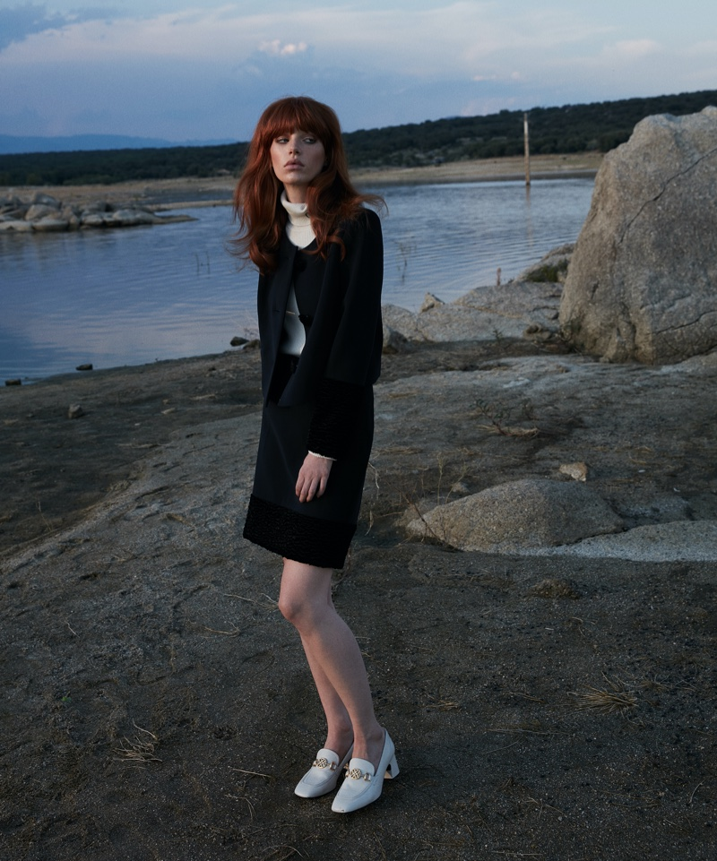 Flora Musy Models Elegant Looks for Vanidad Magazine