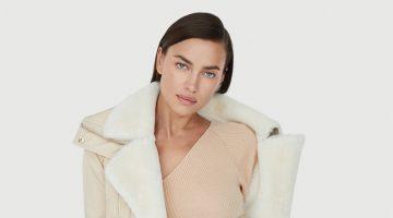 Irina Shayk stars in Nicole Benisti fall-winter 2020 campaign.