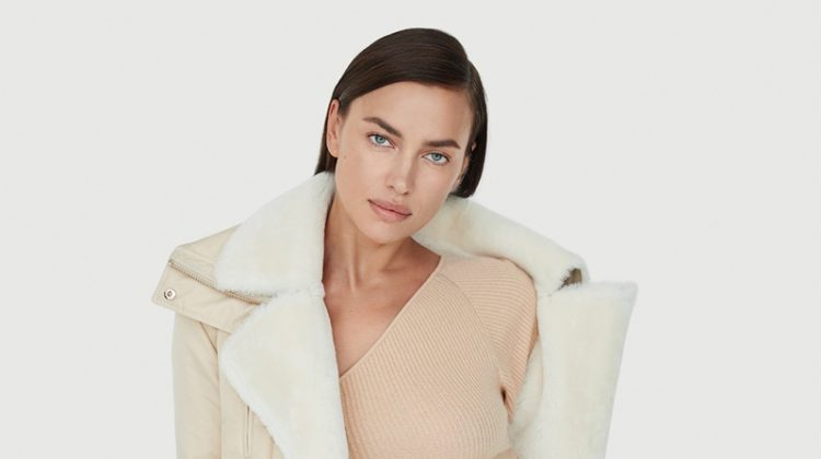 Irina Shayk stars in Nicole Benisti fall-winter 2020 campaign.