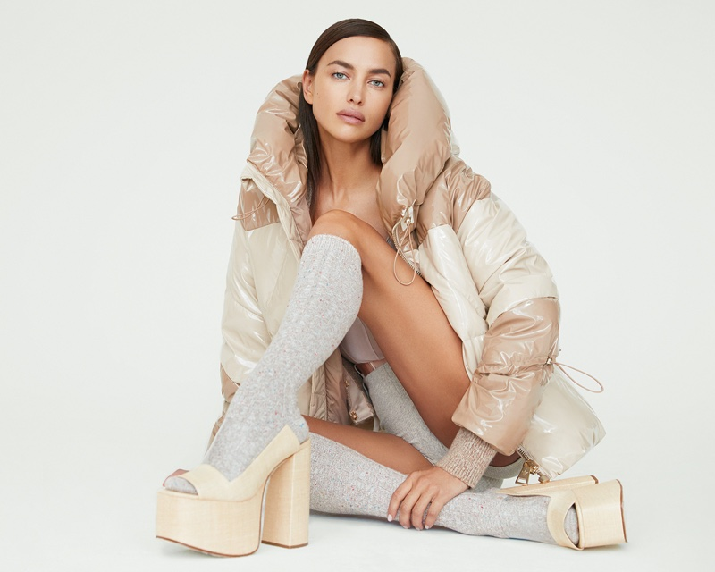 Nicole Benisti enlists Irina Shayk for fall-winter 2020 campaign.