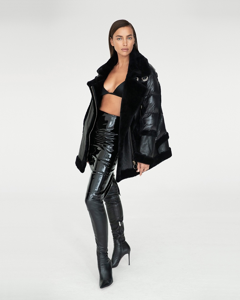 Irina Shayk Looks Luxe in Nicole Benisti Fall 2020 Campaign