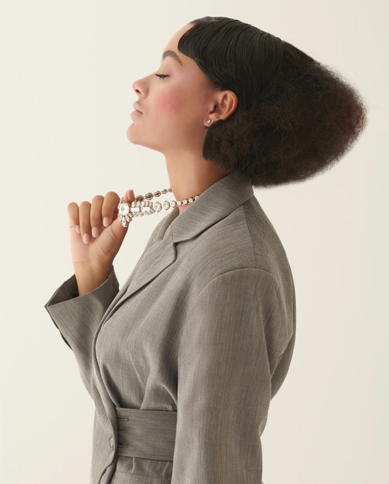 Jéssica Campos Models Whimsical Looks for L'Officiel Turkey