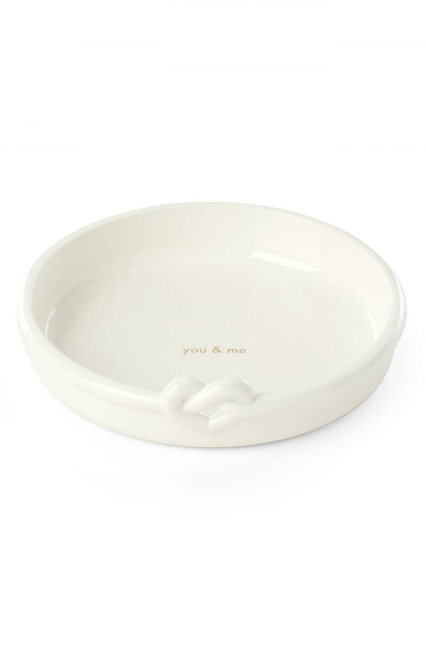 Kate Spade New York With Love Ring Dish, Size One Size - White