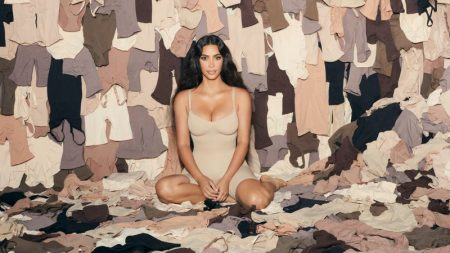 Kim Kardashian Leads SKIMS One Year Anniversary Campaign