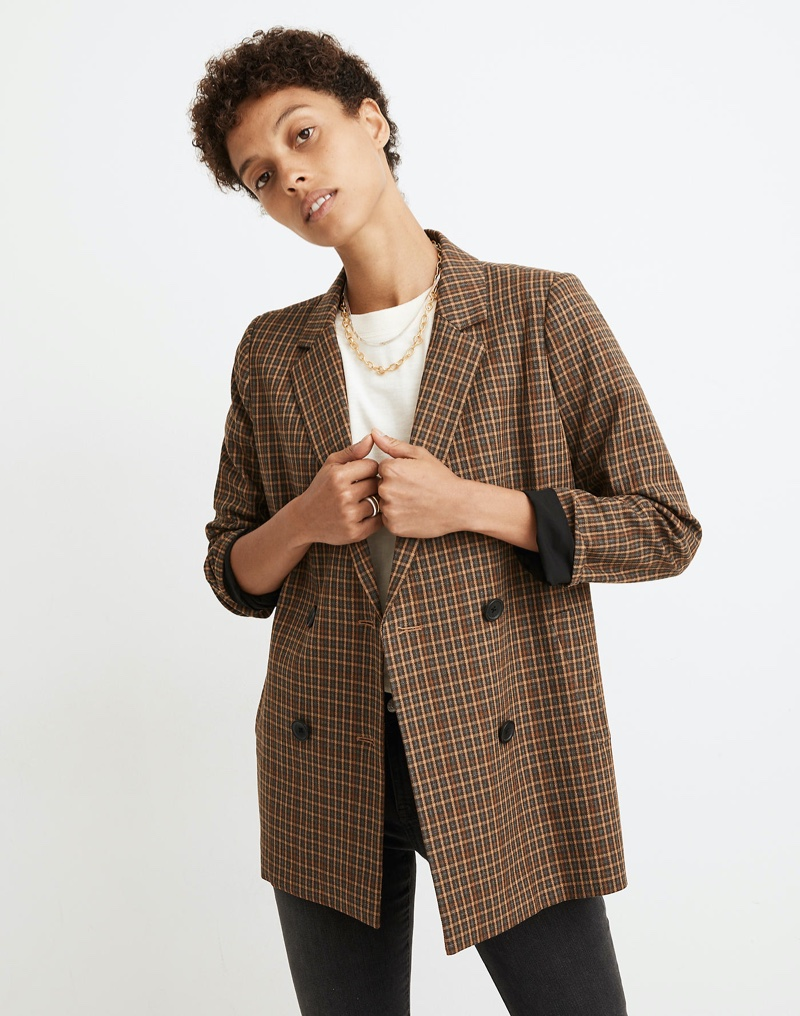 Get Into Fall With Madewell's Chic Plaids